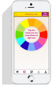 Psychics app screenshot on iphone